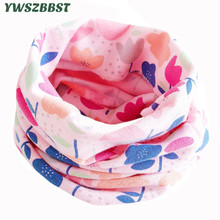 купить New Fashion Cotton Baby Scarf Color Flowers Baby Bibs Baby Burp Cloths Autumn Winter Children Scarf Girls Boys Neck Collar в интернет-магазине