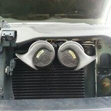 Loud Car Klaxon Horn 12V Car Styling Parts for Vespa Loudnes 110 dB Waterproof Dustproof Teflon Coating Technology Car Horn