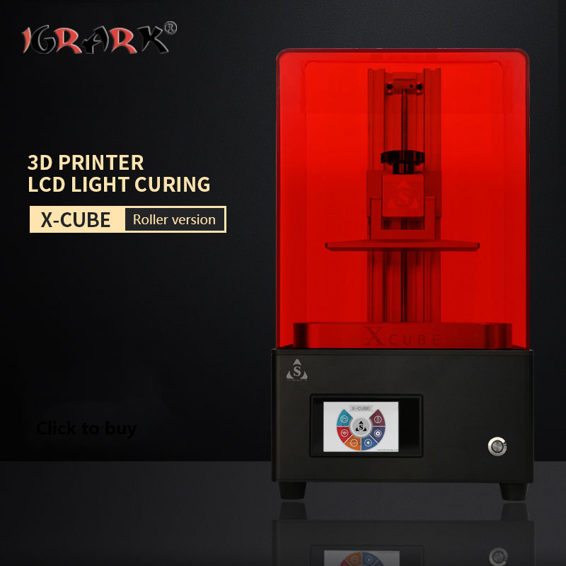 IGRARK LCD photopolymérisable imprimante 3D SLA/DLP photosensible résine bijoux modèle imprimante à main - 3