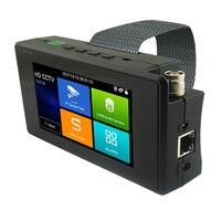 Новый 4 дюйма запястье 4 К H265 IP 8MP TVI 4MP CVI 5MP AHD CVBS 5 в 1 CCTV тестер с DC12V 3A DC48V POE Мощность Выход и WI FI точки доступа