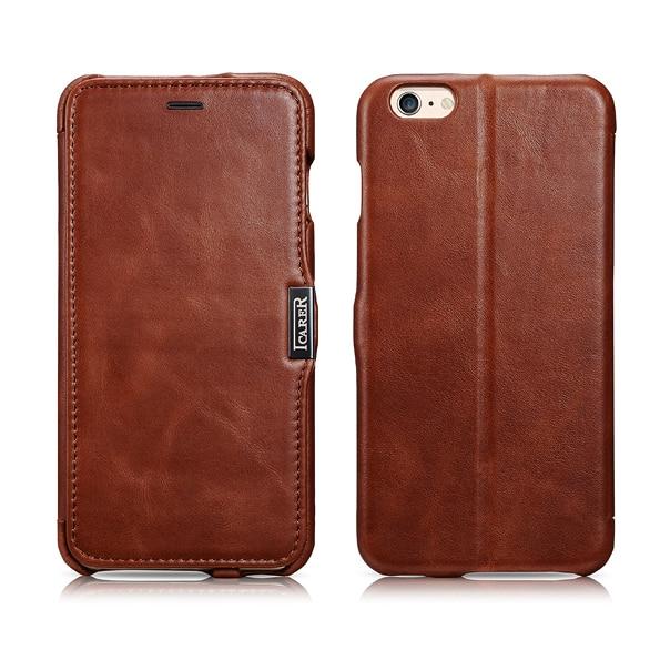 Γνήσιο ICARER Ultra Thin Vintage Flip Cover για iPhone6 - Ανταλλακτικά και αξεσουάρ κινητών τηλεφώνων - Φωτογραφία 2