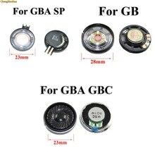 Chenghaoran 1pcs gb gbc gba/gba sp 교체 스피커 용 게임 보이 컬러 어드밴스 스피커 용