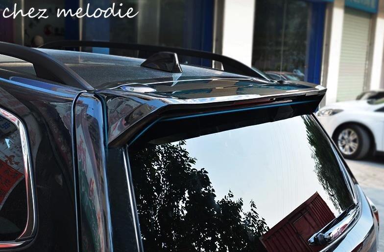 Праймер неокрашенный АБС автомобиля задний спойлер на крыше крыла для Субару Форестер 2013-2016, необходимых бурения, Тип OEM