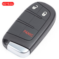 Keyecu Smart Remote Key Fob 2+1 Button 433MHz ID46 for Dodge Durango Journey 2011 2018 FCC: M3N 40821302