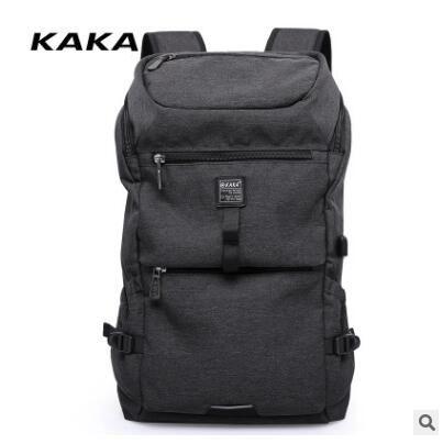 KAKA Oxford Men Backpack Travel Backpack Bag for Men Large Capacity Laptop Shoulder Bag Man Business Bag Rucksack For Teenagers backpack men s travel backpacks men school bag for teenagers canvas business laptop bag large capacity multifunction backpack
