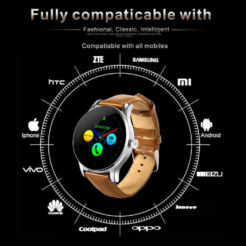 K88H חכם שעון עם Bluetooth שיחת 1.22 אינץ IPS מסך תמיכה ספורט קצב לב צג Bluetooth SmartWatch PK L8 Q8 DT98