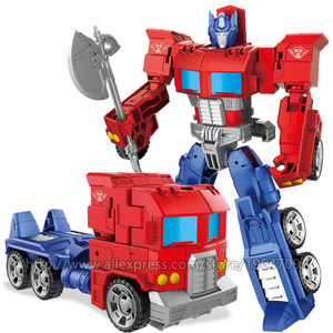 Image 5 - WEI JIANG New Cool Anime Transformation Toys Robot Car Super Hero Action Figures Model 3C Plastic Kids Toys Gifts Boys Juguetes