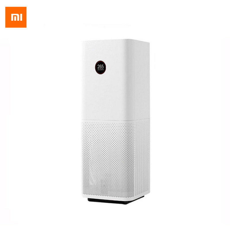 2017 Xiaomi Air Purifier Pro Intelligent OLED Display CADR 500m3/h 60m3 Wireless Smartphone APP Control Household Appliances new original xiaomi air purifier pro oled display screen laser particle sensor 500m3 h particulate matter cadr for 60m3