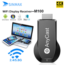 AnyCast M100 HDMI WiFi Display TV Dongle Dual Core H.265 Dec