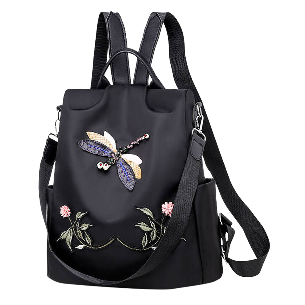 Fashion Anti-theft Women Backpacks Famous Brand Ladies Large Capacity Backpack High Quality Waterproof  Computer Bag*//