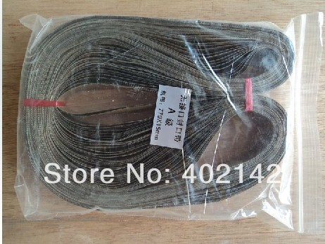 Free Shipping,100pcs/lot 770*15mm Teflon belt for FR-770 band sealer/sealing machine 100pcs lot ka3525a 3525a ka3525 dip 16 free shipping new