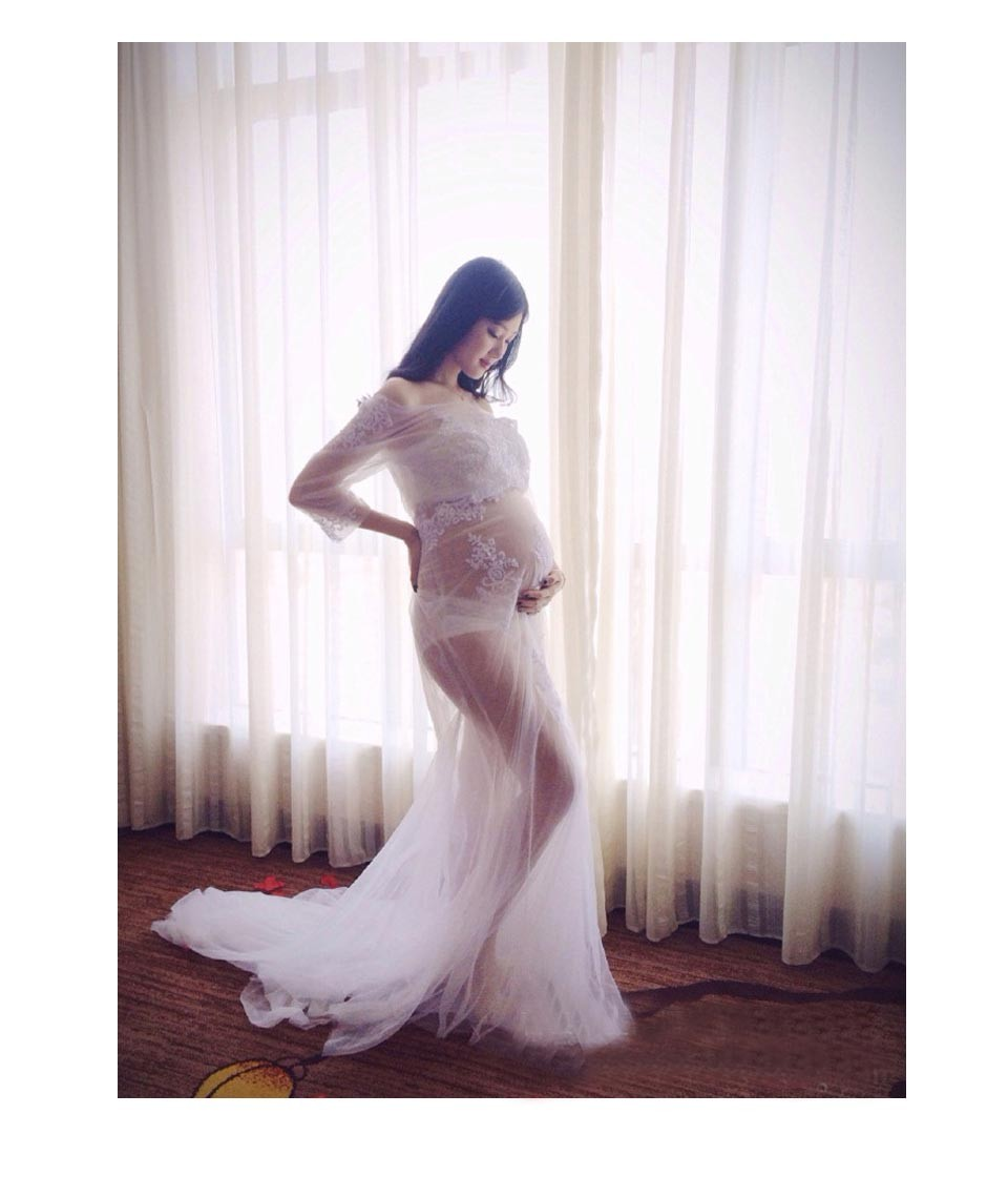 maxi dress maternity shoot your mouth
