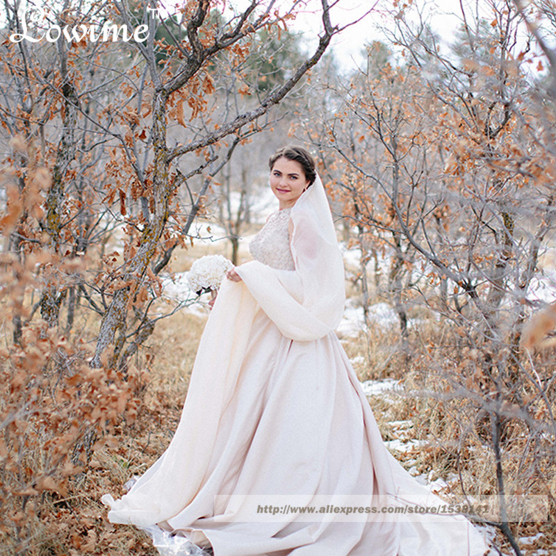 Winter Wedding Dresses Plus Size