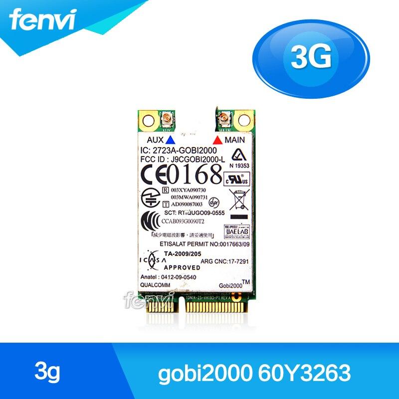 Für IBM Lenovo ThinkPad T410 W510 T410s X120e FRU: 60Y3263 Gobi2000 drahtlose...