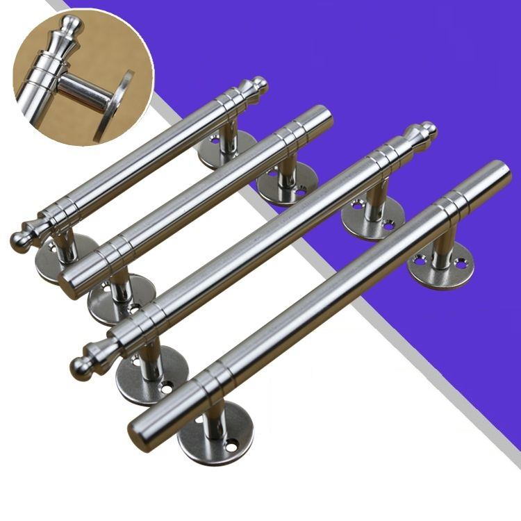 2PCS/LOT 304 Solid Stainless Steel Gate Furniture Wooden Door Handle Pull