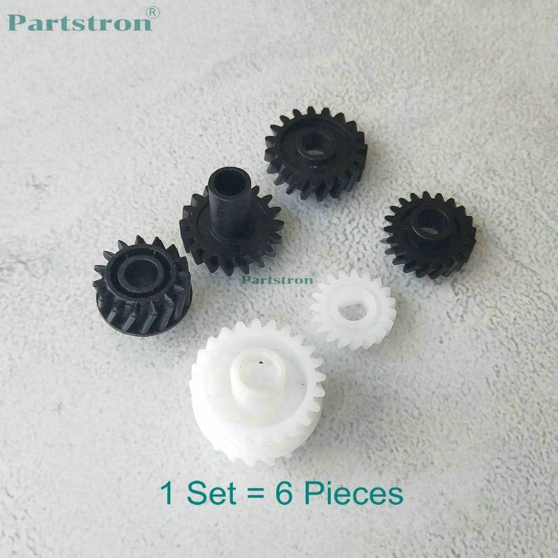 1Set Developer Gear Kit 6Pcs For Use In  Konica Minolta Bizhub 162 163 180 210 220 Di1611 Di1811 152 183