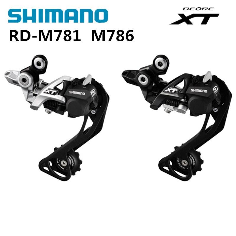 Shimano XT Rear Derailleur M781 M786 10 speed 30 speed цена