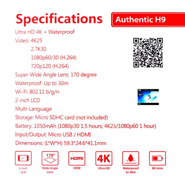 FOR SYMA X8 SYMA X8W SYMA X8G RC Drone Spare Parts H9R 4K Ultra HD Camera or protective Frame with Remote control WIFI Camera
