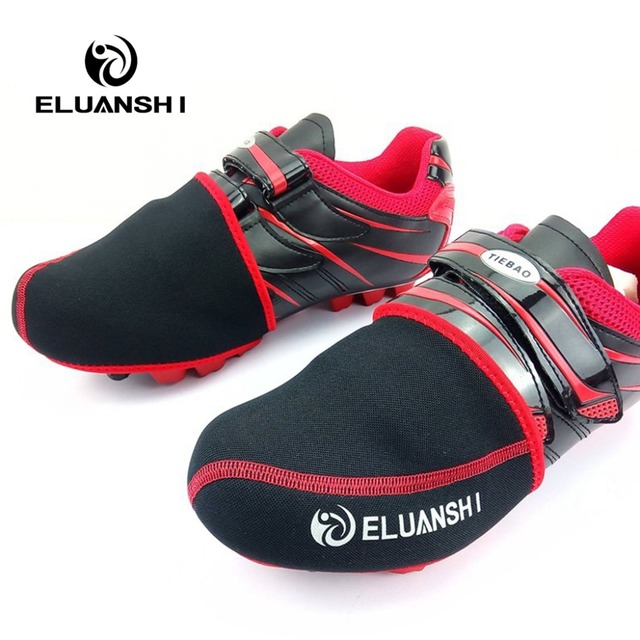 Warm waterproof Cycling shoes cover SHI Mountain bicycle Road Bike accessories women mtb Wind Half Equipment Airy Sport Nylon