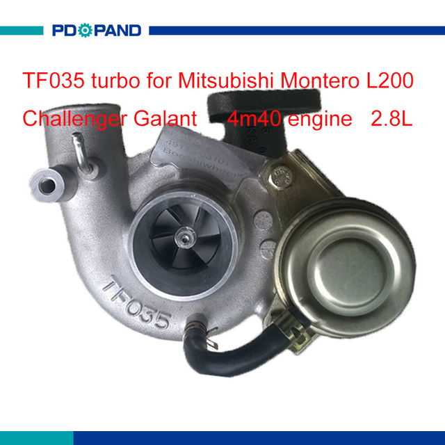 Supercharger Turbo Kit Tf035 For Mitsubishi Montero 4m40 T Sel Engine 2835cc 49135 03100 03101 03110