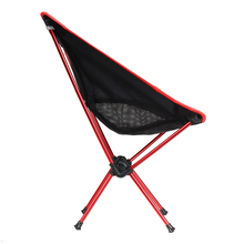 Ultra Light Fishing Chair Aluminium Alloy Fishing Seat Stool Camping Hiking Gardening Chair Folding Pouch Chair Top Quality