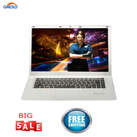 15.6inch gaming notebook computer celeron N3450 quad core 6GB RAM 1TB HDD 1920*1080 IPS free shipping windows 10 laptops
