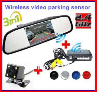 Wireless Car Rear view Kit 4.3