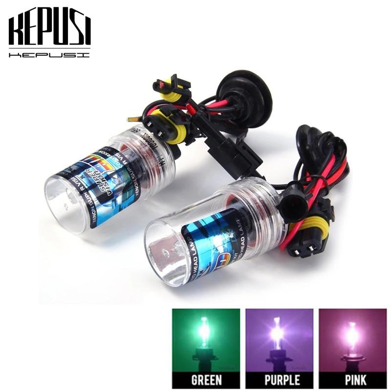 2pcs 35W H8 H9 H11 hid xenon bulbs font b lamps b font auto car lights