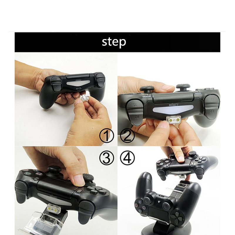 Купить с кэшбэком New Controller Charger Dock USB PS4 Charging Stand Station Cradle for Sony Playstation 4 PS4 Slim Contact type