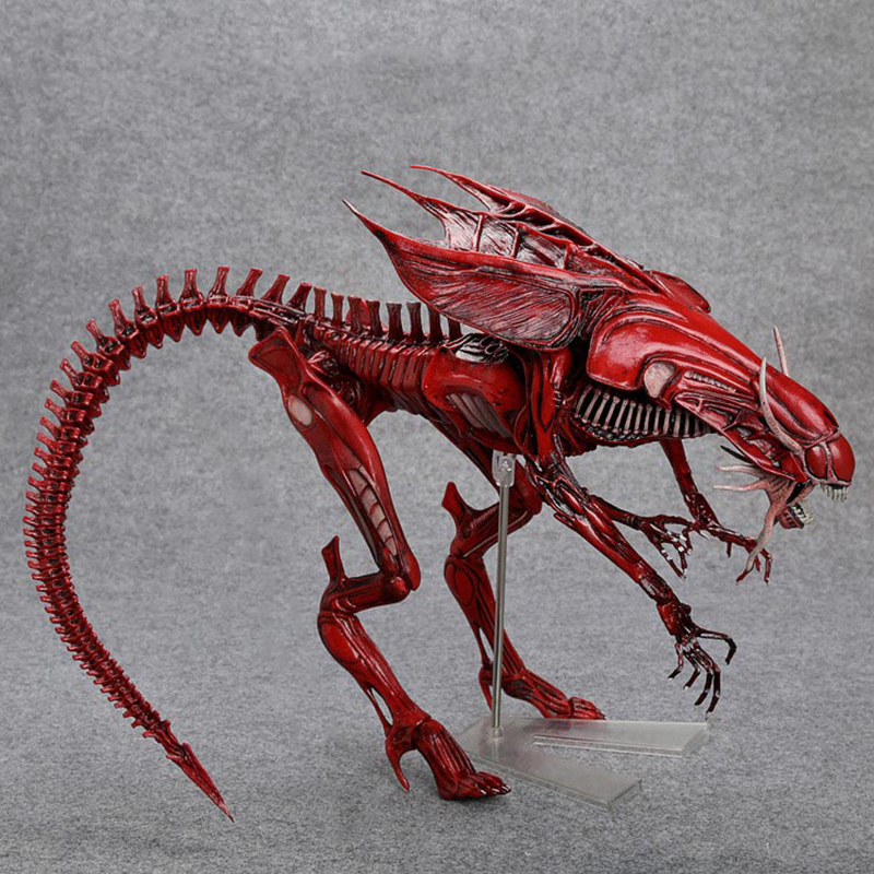 US $129 99 |2 style High Quality NECA ALIEN Original toy Aliens vs Predator  xenomorph Queen mother PVC action figure Collectible Model Doll-in Action