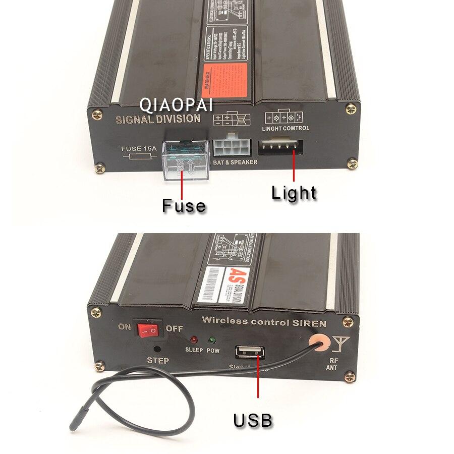 1pc 200w Host Horn Alarm Megaphone Siren Multi Tone Super Loud Multitone Speaker Wiring Electric Dc 12v For Car Train Boat Ship Parts In Claxon