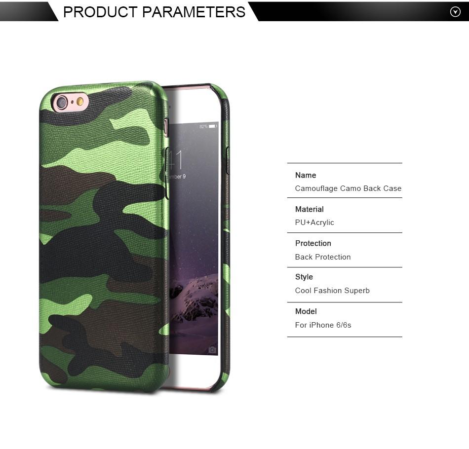 Dla iphone 7 5 5s se case wojskowy kamuflaż mężczyzn skórzane torby telefon sprawach dla iphone 7 7 plus pokrywa dla iphone 6 6s plus 5 5S se 2