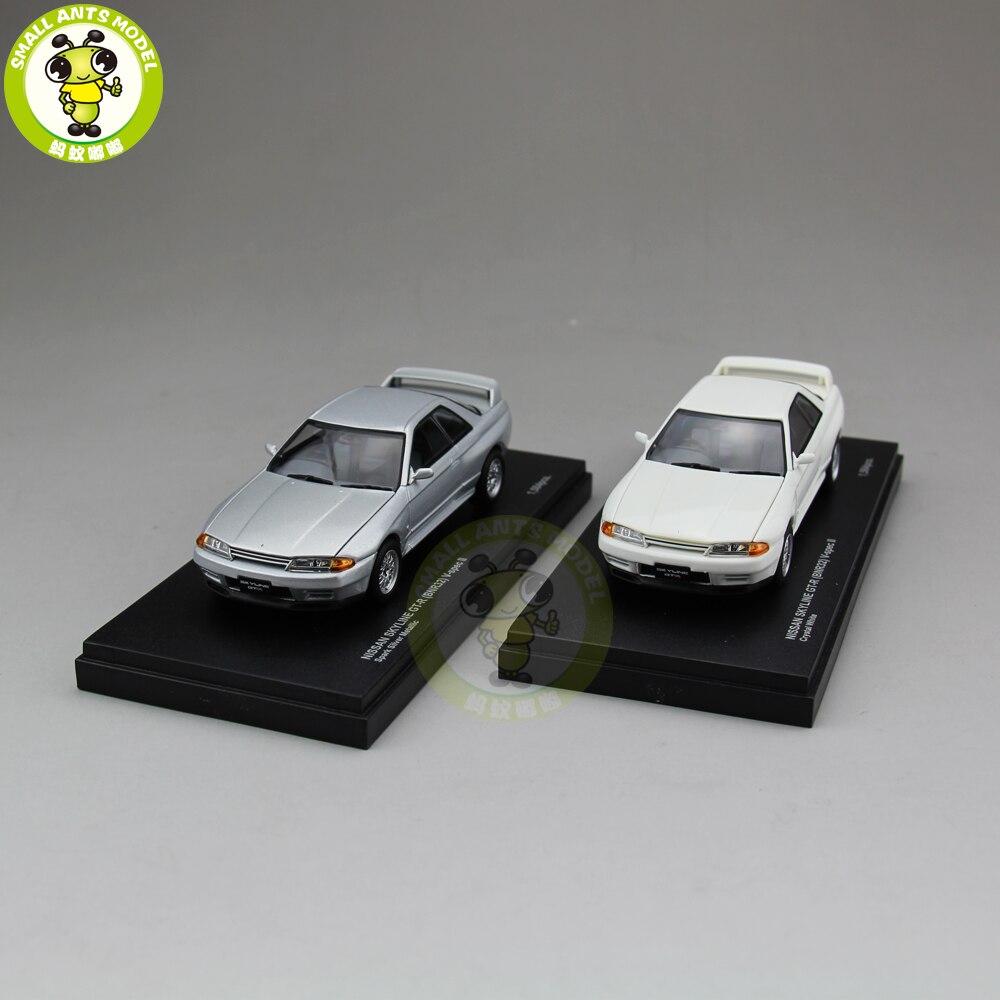 1/43 Nissan SKYLINE GT-R GT R GTR BNR32 V-spec II Kyosho 03222 Diecast Car Model Toys 1 32 scale jada jdm tuners ford gt datsun 510 chevy pickup honda nsx mazda rx 7 nissan skyline gt r r35 diecast racing model toy