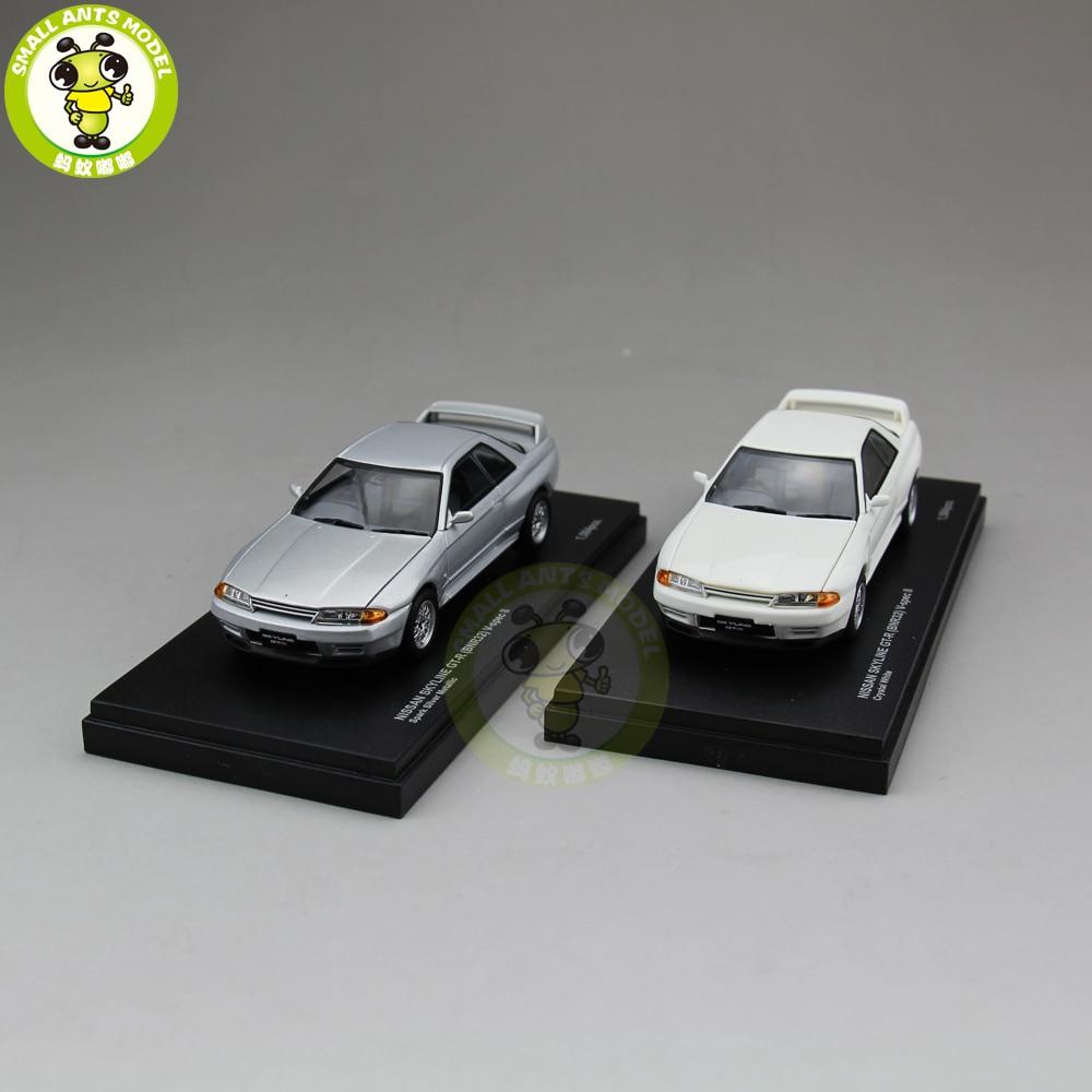 1/43 Nissan SKYLINE GT-R GT R RTM BNR32 v-spec II Kyosho 03222 Moulé Sous Pression Modèle De Voiture Jouets