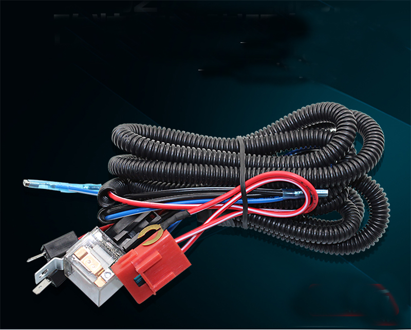12v Truck Car Horn Relay Wiring Harness Kit For Grille Mount Blast