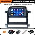 Actualizado Original Juego de Coches Reproductor de Radio para Chevrolet Captiva 2008-2011 Navegación GPS Reproductor de Vídeo Del Coche WiFi Bluetooth