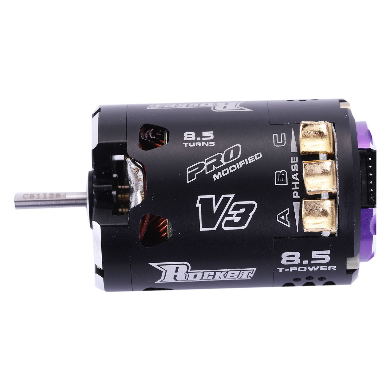 Superar HOBBY 540 de 8,5 T de 4250KV V3 Sensored Motor sin escobillas modificado para 1/10 RC coche camión-in Partes y accesorios from Juguetes y pasatiempos on AliExpress - 11.11_Double 11_Singles' Day 1