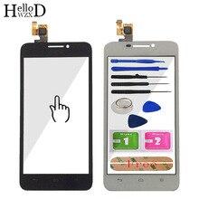 Mobile Touch Screen Para Huawei Ascend G630 G630 U10 G630 U20 Digitador Sensor de Vidro Da Tela De Toque Sensor de Vidro Da Frente Da Tela Sensível Ao Toque