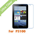 """P3100 2pcs For Samsung Galaxy Tab 2 P3100 7"""" 0.15mm Ultrathin Clear HD Screen Protector LCD Film Cover Guard + Cleaning Cloth"""