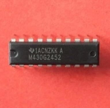 10pcs /lot MSP IC dip MSP430G2452IN20 MSP430G2452 DIP DIP20 MSP430 MCU best quality