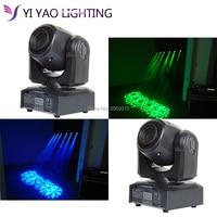 2pcs/lot Gobo DMX 11 Channels LED Spot 30W Moving Head 9gobos Effect Stage Light DJ