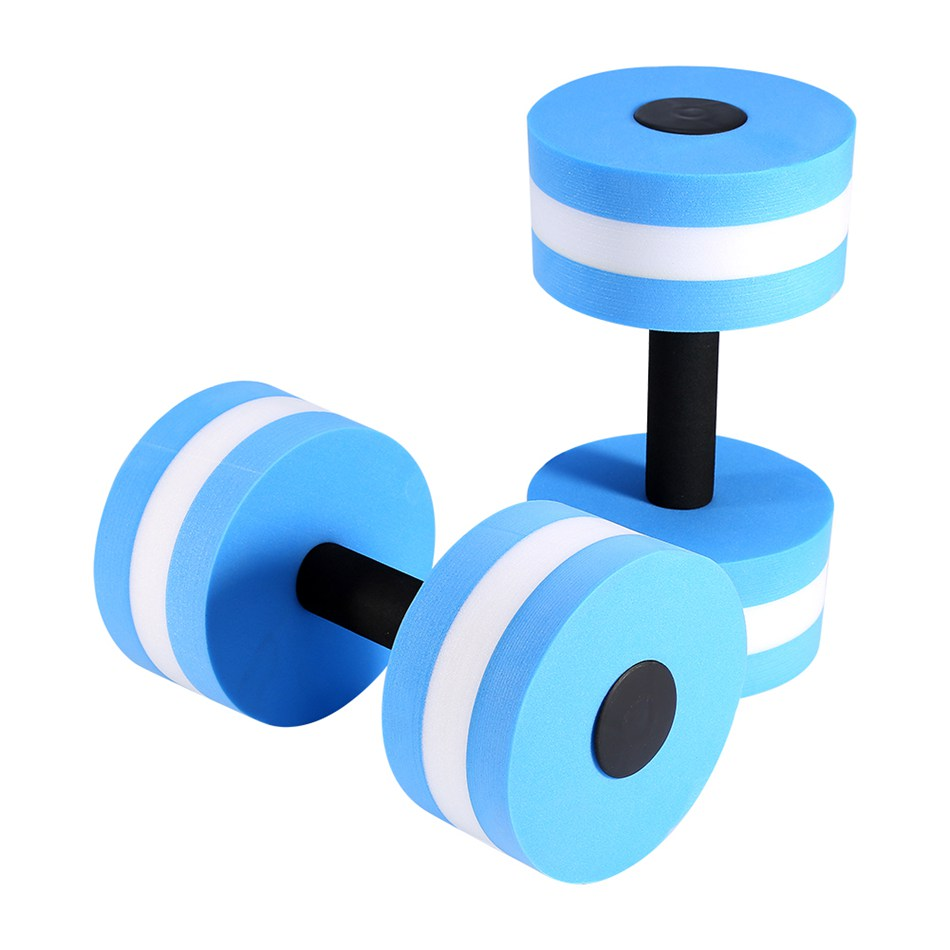 1 Pair Water Aerobics Dumbbell Medium Aquatic Barbell Aqua