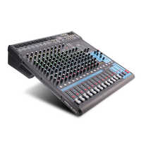 G-MARK MG16MP3 16 kanal Audio Mixer konsole 24-Bit SPX digital wirkung 26 sprachen wählen 2 display Bluetooth USB lade