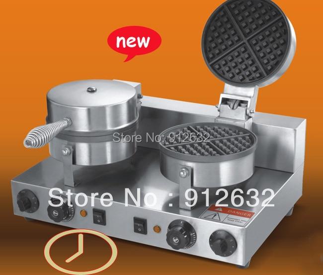 Waffle Iron 2 kitchen Waffle Baking mold toaster Newly timer commercial waffle baker maker baking & pastry tools for cakes