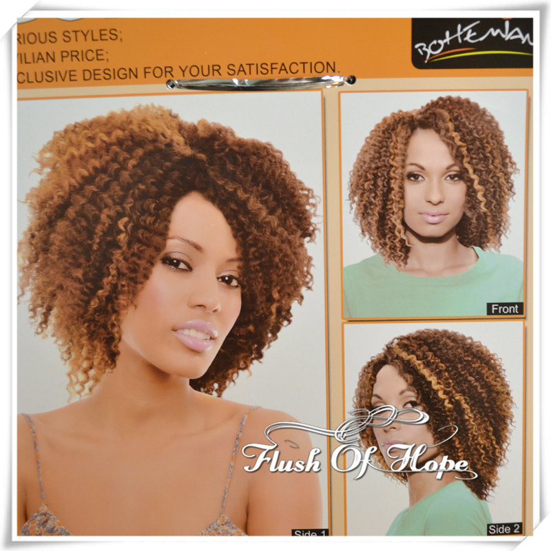 One Pack For Full Head Noble Gold Bohemian Gb Regina Ombre Synthetic