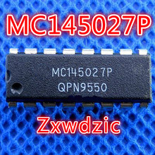 10pcs MC145027P MC145027 DIP-16 mc3486p dip 16