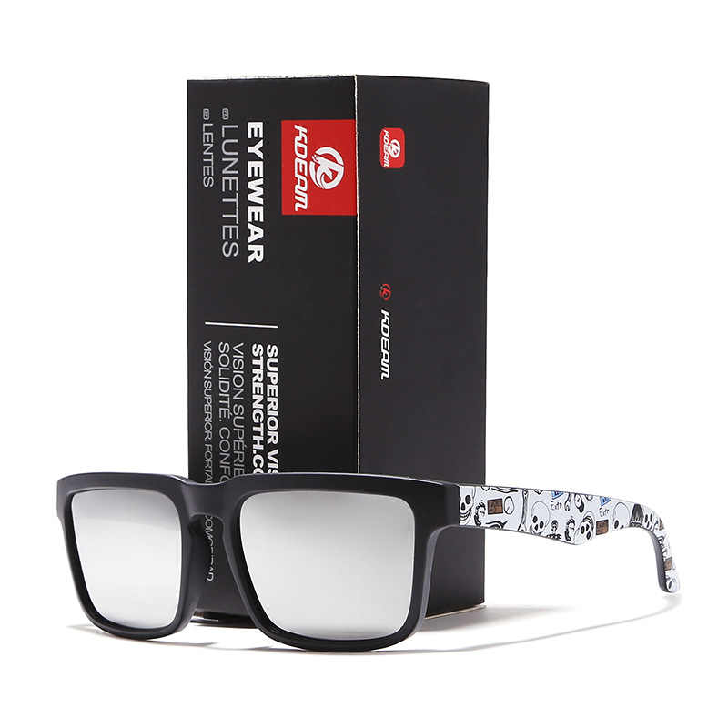 1c7ec03848 ... Fashion Men s Sun Glasses From KDEAM Brand Polarized Sunglasses Men  Classic Design All-Fit Mirror