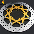 motorcycle Aluminum alloy  & Stainless steel Front Brake Disc Rotor For Suzuki GSXR600 750 2006-2007