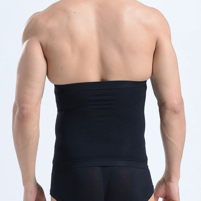 Men Slimming Waist Trimmer Belt New Arrive Corset Beer Belly Fat Cellulite Burner Tummy Control Stomach Girdle Body Shaper 2