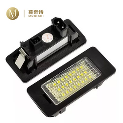 LED auto Lizenz Platte Lichter platte anzahl Für BMW E70 X5 e81 e39 e90 e60 auto verstecken auto lizenz platte halter anzahl platte licht